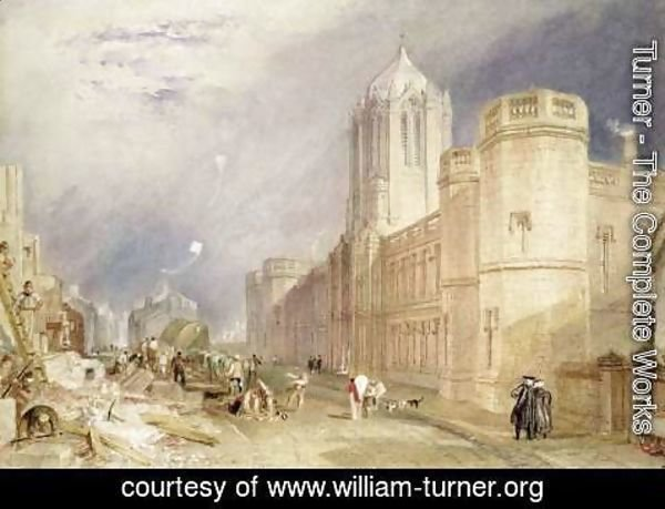 Turner - Christ Church, Oxford