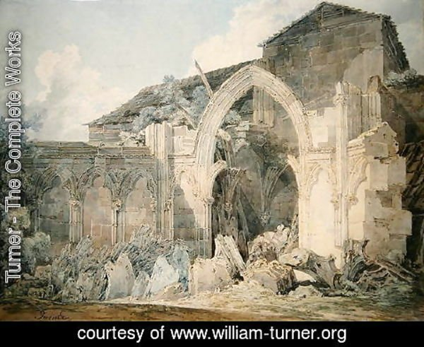 Turner - Hereford Cathedral