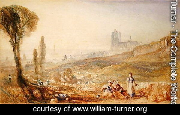 Turner - Brussels - Distant View