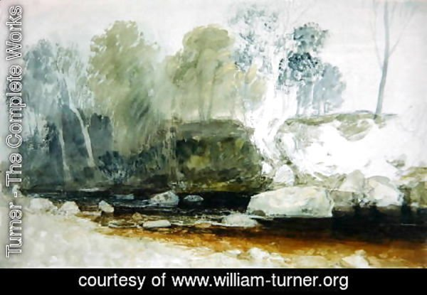 Turner - On the Washburn: A Study, c.1815