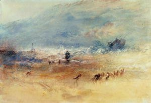 Turner - Yarmouth Sands, c.1840