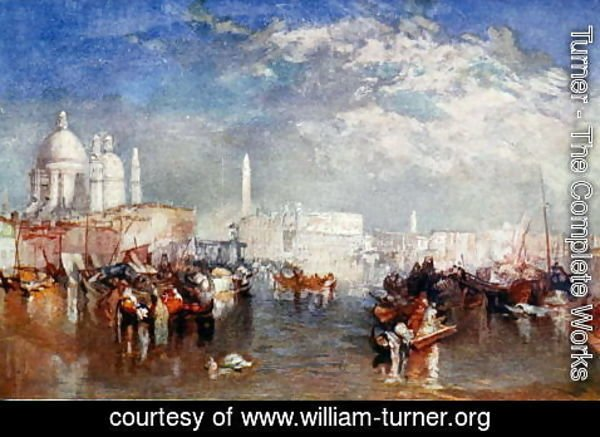 Turner - Venice, illustration from Lives of Great Men Told by Great Men, edited by Richard Wilson, c.1920s