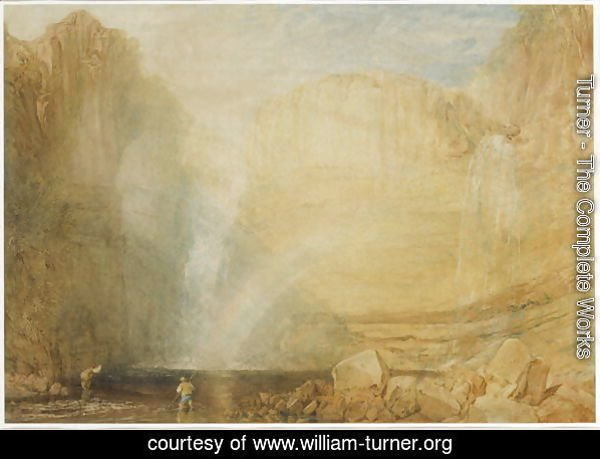 High Force, Fall of the Trees, Yorkshire, 1816
