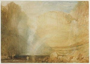 Turner - High Force, Fall of the Trees, Yorkshire, 1816