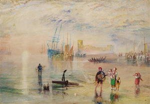 Turner - Flint Castle, c.1834
