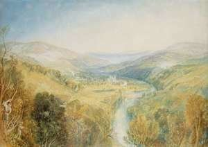 Turner - Buckfastleigh Abbey, Devonshire
