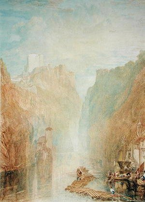 Turner - On the Upper Rhine, c.1820