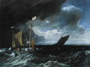 Seascape with a Squall Coming Up, c.1803