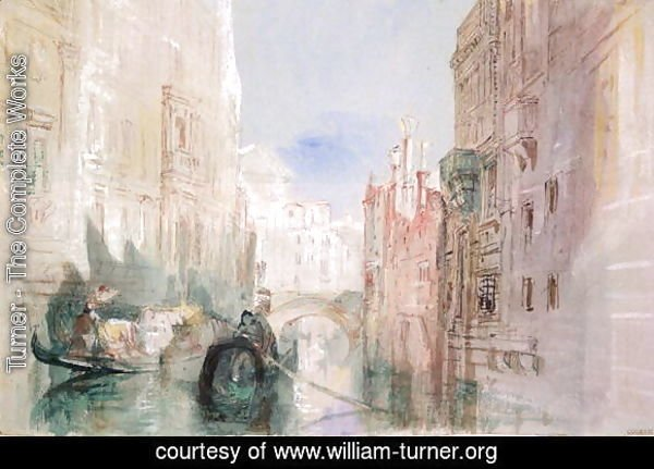 A Canal near the Arsenale, Venice