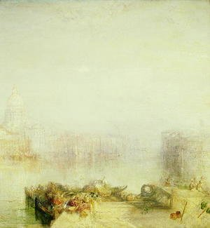 Turner - The Dogana and Santa Maria della Salute, Venice, 1843