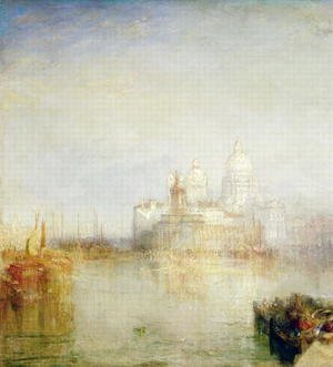 Turner - The Dogana and Santa Maria della Salute, Venice, 1843 2