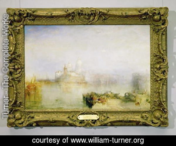Turner - The Dogana and Santa Maria della Salute, Venice, 1843 3