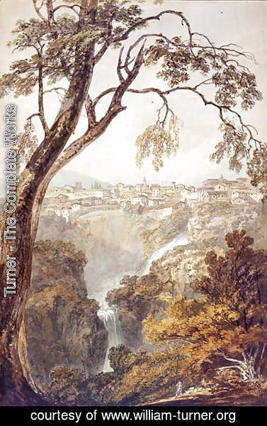 Turner - The Falls at Tivoli