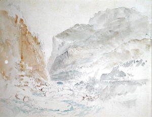 Turner - Blue Stream, St. Gothard