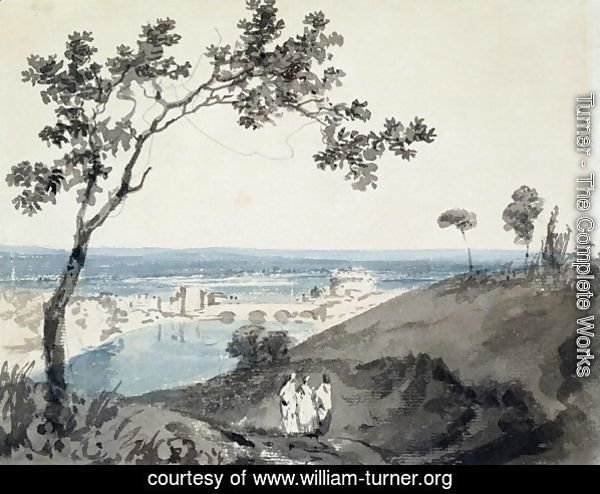 Rome, after Richard Wilson 1714-82