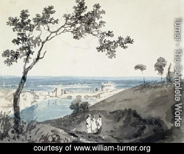 Turner - Rome, after Richard Wilson 1714-82
