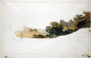 Turner - Linlithgow Palace, Scotland, 1801