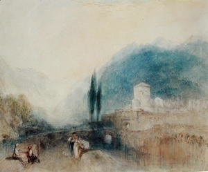 Turner - Bellinzona, 1842