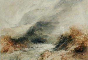 Turner - Llanthony Abbey, Monmouthshire, 1834