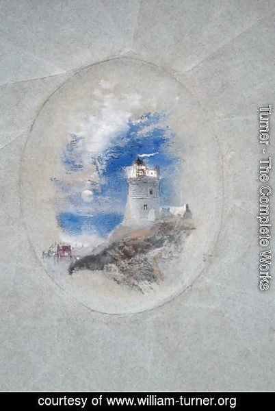 Lowestoffe Lighthouse, c.1827