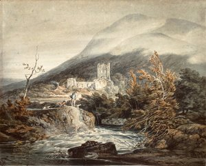 Llanthony Abbey, Monmouthshire, c.1792