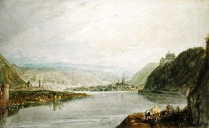 Turner - Remagen and Linz, 1817