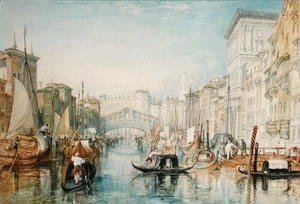 Turner - Venice The Rialto, 1820-21