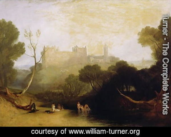 Turner - Linlithgow Palace, c.1807
