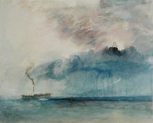 Turner - Steamboat in a Storm, c.1841