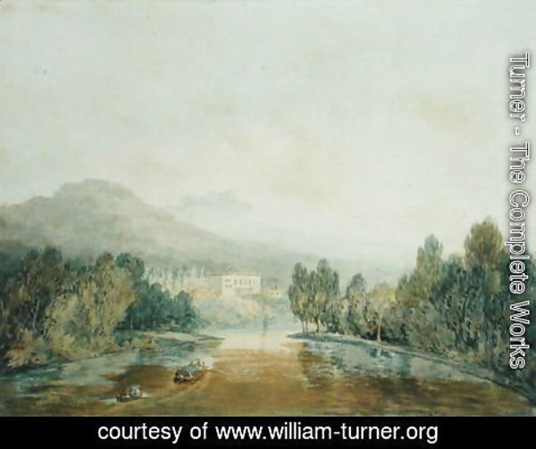 Turner - Villa Salviati on the Arno, c.1796-97