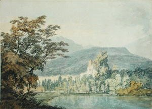 Turner - Sir William Hamiltons Villa, c.1795