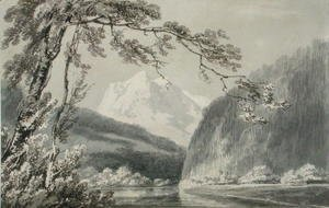 Turner - Near Grindelwald, c.1796