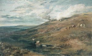 Turner - Dartmoor: The Source of the Tamar and the Torridge, c.1813