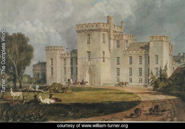 View of Hampton Court from the North-west, c.1806