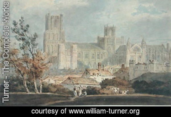 Turner - View of Ely Cathedral