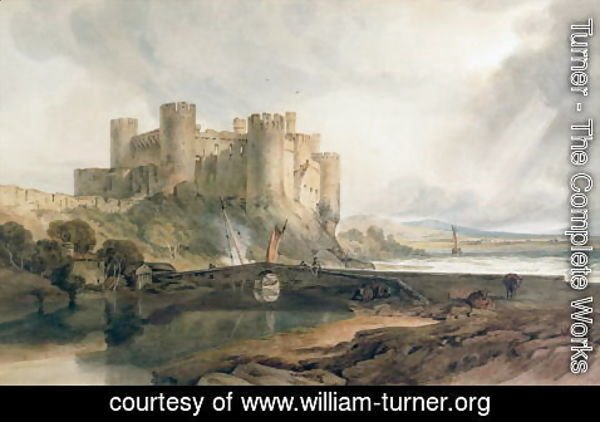 Turner - Conway Castle 3