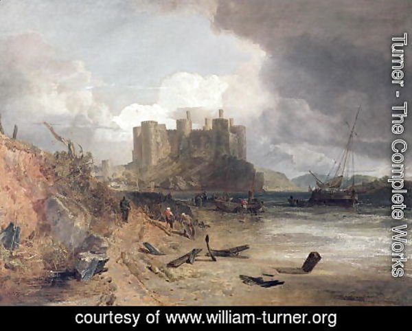 Turner - Conway Castle, c.1802-03