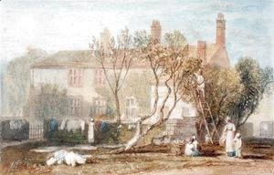 Turner - Steeton Manor House, near Farnley, c.1815-18