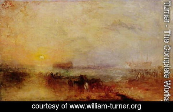 Turner - The Morning after the Wreck, c.1835-40