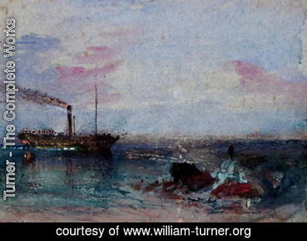 Turner - Seascape with a Boat