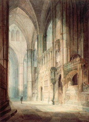 Turner - St. Erasmus in Bishop Islips Chapel, Westminster Abbey, 1796