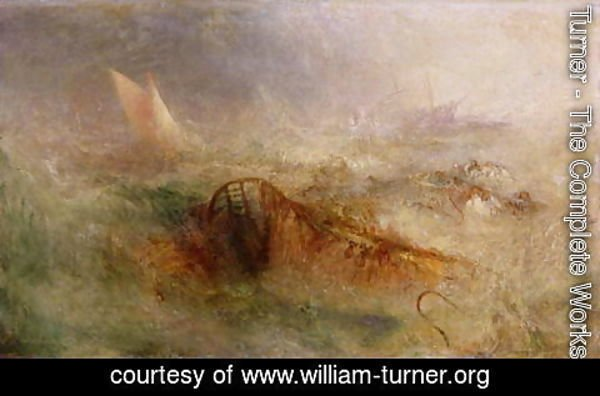 Turner - The Storm, c.1840-45