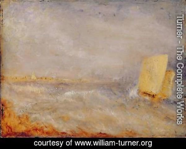 Turner - A Sailing Boat off Deal, c.1835