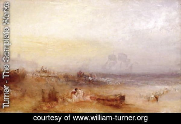 Turner - The Morning After the Storm, c.1840-45