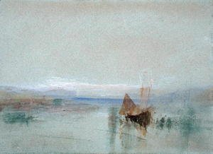 Turner - Fishing Boats Becalmed off Le Havre