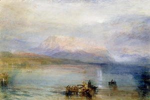 Turner - The Red Rigi, 1842