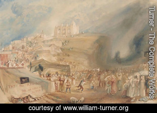 Turner - St. Catherines Hill, Guildford, Surrey, 1830