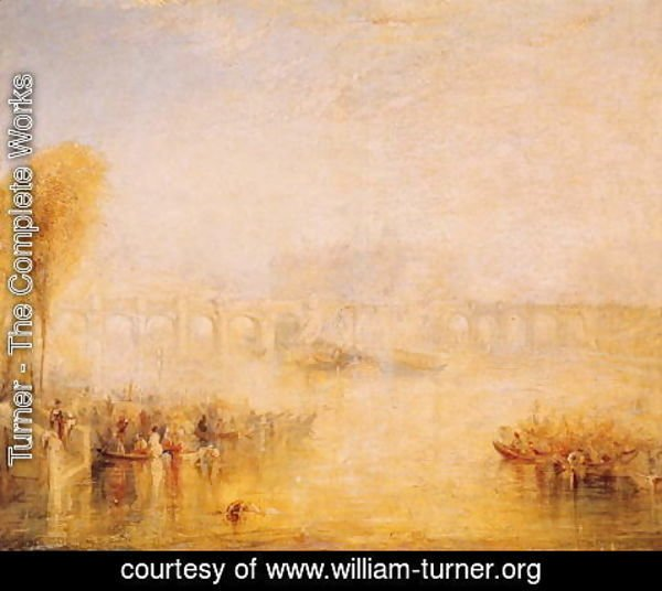 Turner - View of the Pont Neuf, Paris