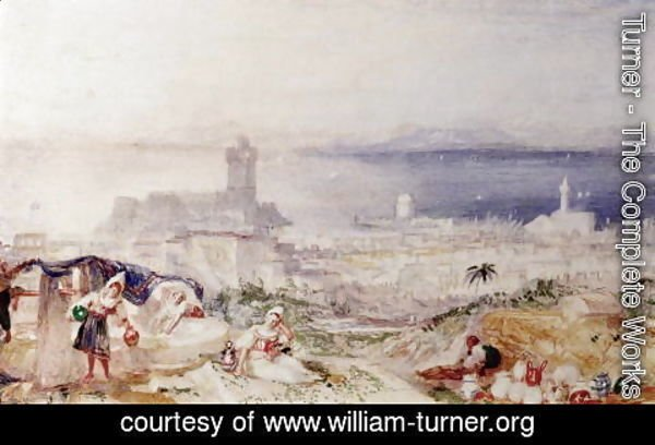 Turner - View of Rhodes