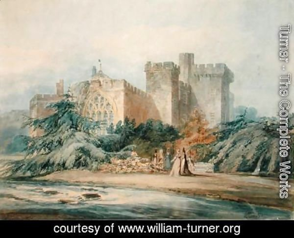 Turner - The Chapel, Hampton Court, Herefordshire